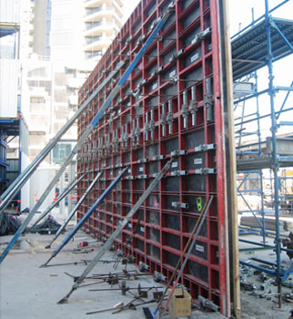 Wall Formwork Panel Systems